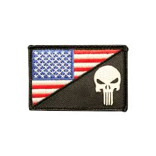 American Flag Morale Patch Punisher