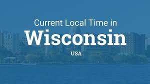 Where Is Wisconsin On The Map by Current Local Time In Wisconsin United States