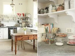 kitchen with shabby chic style for everlasting design kitchen