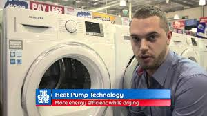 Heat Pump Clothes Dryer Samsung 8 Kg Front Load Heat Pump Dryer The Good Guys Youtube