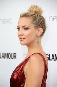 celebrities wear messy bun hairstyles to the glamour u k awards