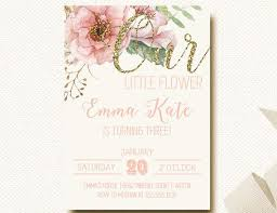 32 best floral birthday party images on pinterest invitation