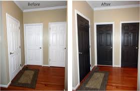 Interior Door Ideas Paint Interior Doors Black Before And After Search