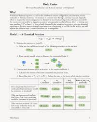 mole ratio worksheet free worksheets library download and print