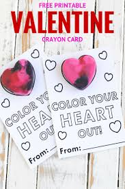 crayon valentines free printable crayon card katarina s paperie