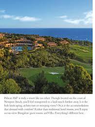 resort brochure for pelican hill u2013 debbie in the oc