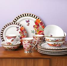 Dining Dish Set Lenox Dinnerware Melli Mello Eliza Stripe Collection Created For
