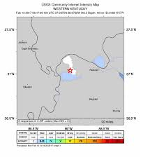 Zip Code Map Louisville Ky by Usgs M2 2 Earthquake Recorded Near La Center Ky Whas11 Com