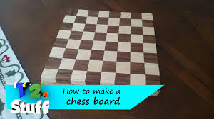 Outdoor Checker Table Made From How To Make A Chess Board