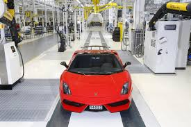 lamborghini shoes last lamborghini gallardo rolls off the production line