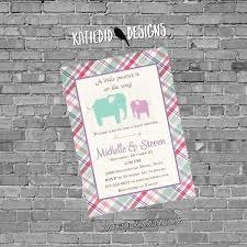 elephant baby shower invitation elephant baby shower gender
