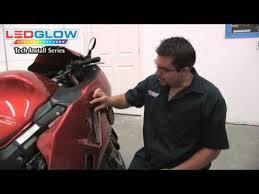 alpena flex led lights installation ledglow 6pc led flexible motorcycle light kit installation video