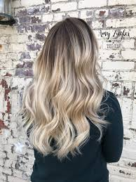 creating roots on blonde hair platinum neutral blonde balayage ombre smudge root by askforamy