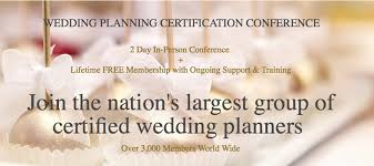 wedding planner certification wedding planning certification course the bridal society