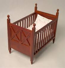 Baby Crib Bed Miniature Baby Crib Bed Room Furniture S Line In Miniature