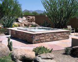 above ground spa design ideas tub landscape seoandcompany co