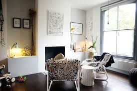 ideas for a small living room small transitional living room photo in with gray walls