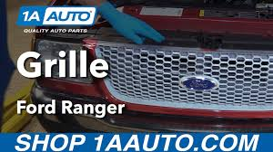 ranger ford 2001 how to install replace grille 2001 ford ranger buy quality auto
