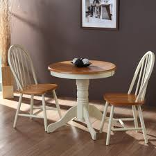 Round Wooden Table Top View Small Round Kitchen Table For Two Bibliafull Com