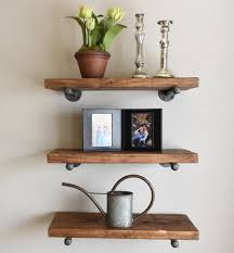 Thick Wood Floating Shelves by Joanna Gaines With Magnolia Market Says Floating Shelves Whether
