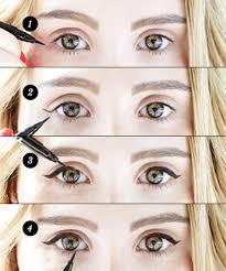 liquid eyeliner tip no 5 don u0027t tug ever apply like this