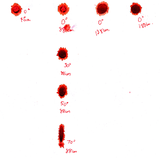 blood spatter lab google search forensics pinterest forensics