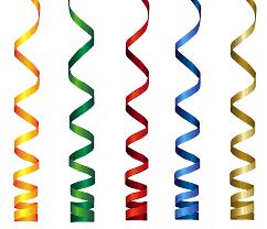birthday ribbons curly ribbons transparent png clip branding birthday