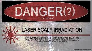 low level light therapy hair is laser therapy lllt for hair loss safe can it cause cancer