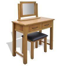 Oak Vanity Table Oak Dressing Table Ebay