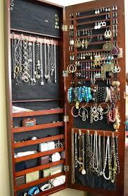 closet jewelry organizer ideas home design ideas