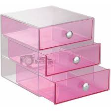 Interdesign Bathroom Accessories by Interdesign Cosmetic And Jewelry Storage Vanity 3 Drawer