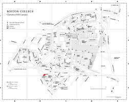 Boston University Map by About Us International Programs Boston College