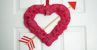 valentines day wreaths 2 heart shaped s day wreaths the dollar tree