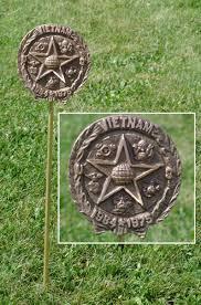 grave marker war veteran grave marker in cast bronze