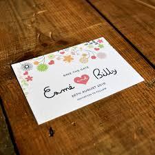 save the date envelopes whimsical flowers wedding invitation feel wedding invitations