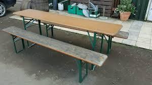 german beer garden table and bench german beer garden tables benches in danderhall edinburgh gumtree