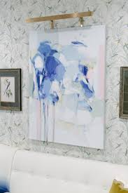 2017 hampton designer showhouse the lounge by east end home co in addition the incredible painting by christina baker looks so lovely layered on top the whole room was sophisticated and feminine without being overly