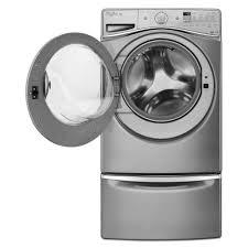 Whirlpool Duet Pedestal White Wfw95hedw Whirlpool Duet