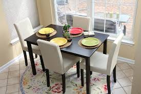 Glass Topped Dining Table And Chairs Glass Top Dining Room Furniture Sets Table With Bench For Small