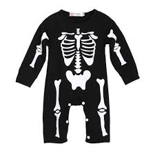 Halloween T Shirt With Baby Skeleton Online Buy Wholesale Baby Skeletons From China Baby Skeletons