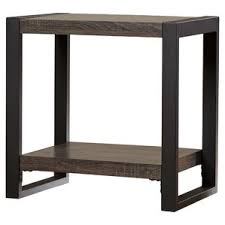 Nightstand With Shelves Modern End Side Tables Allmodern