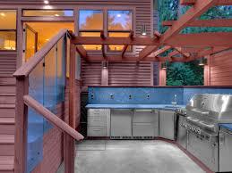 outdoor bbq laminate teak wood flooring white painted cabinet