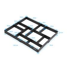 Stepping Stone Molds Uk by Diy 10 Grids Garden Pavement Blocks Paving Concrete Mold Driveway