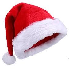 santa hats plush santa hats for christmas party toys