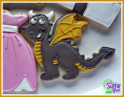 cute dragon cookie cookies by sugar tree cookies pinterest