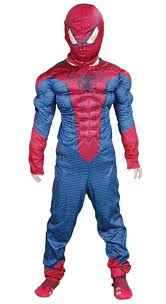free shipping selling halloween spiderman muscle costumes for