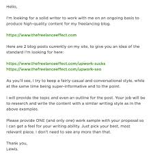 cover letter casual job upwork proposals a deep and thorough analysis of a real cover letter