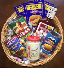 cincinnati gift baskets taste of cincinnati basket cincinnati basket cincy2u
