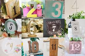table numbers with pictures 12 diy table numbers blog botanical paperworks