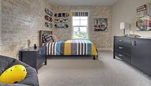 brick wallpaper bedroom 32 edgy brick walls ideas for kids rooms digsdigs